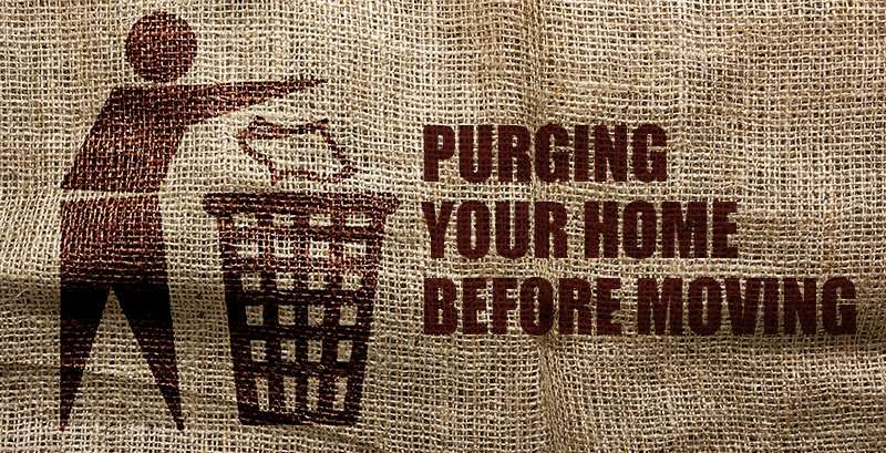 Purging your home for moving