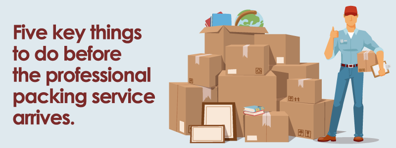 Hiring a packing service