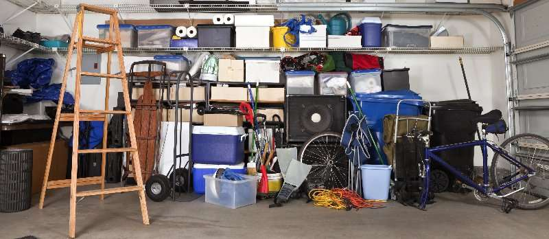 Packing your garage for moving